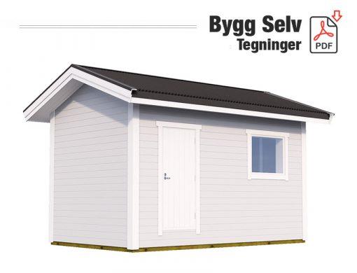 Bygge utebod selv - Gygra - Tegninger