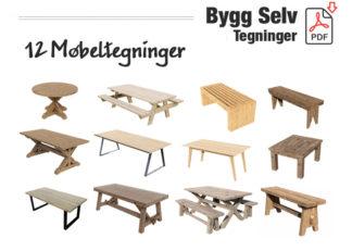 Møbeltegninger - 12 byggetegninger