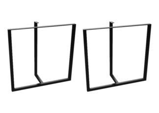 Bordben av metall (stål) modell nr 10